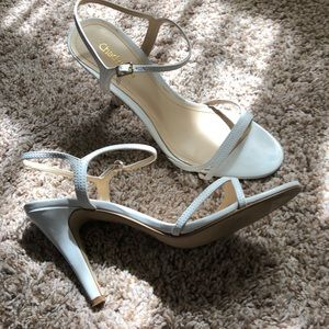 Chadwicks Shoes - White strappy heels